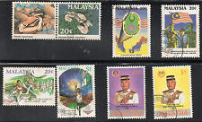 stamps MALAYSIA A147 A148(2) A149(2) A150(2) SET LOT includes MNH