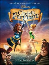 Affiche 120x160cm CLOCHETTE ET LA FÉE PIRATE 2014 WALT DISNEY film animation NEU