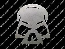 Skull No Jaw Metal Stencil Wall Art Garage Hot Rat Rod Motorcycle Chopper Kustom