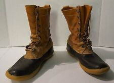 Vintage LL Bean Men's Duck Hunting Boots Size 8 Cursive Label - Freeport Maine