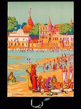 Enjoy India Ocean Beach Southeast Asia Vintage Travel Advertisement Art Poster