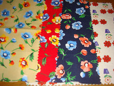 17 pieces assorted sizes 100% cotton fabric.Crafts patch dolls