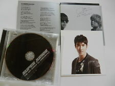 CD Super Junior the 1st single 美人+photocard+jacket with signs of all members
