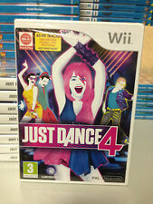 Just Dance 4 Nintendo Wii BRAND NEW FARCTORY SEALED