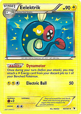 Eelektrik Uncommon Pokemon Card BW3 Noble Victories 40/101