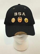 2005 Boy Scouts Of America BSA Black Baseball Hat Limited Edition with 3 Pins