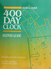 400 Day Anniversary clock repair guide book by Charles Terwilliger 10Th Edition