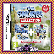 THE SMURFS 1 & 2 COLLECTION (Nintendo NDS DS lite Dsi XL) Brand New