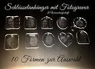 1 Schlüsselanhänger mit Fotogravur - Foto Gravur - Geschenkidee - 10 Formen