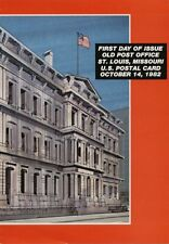 #UX97 13c Old Post Office Postal Card First Day Ceremony  Program