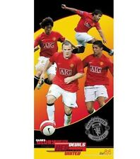 EPL Manchester United Beach Towel 30x60 - 2006~09 Man Utd SQUAD