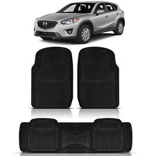 3PC HEAVY DUTY ACK RUBBER FLOOR MATS for MAZDA CX 7 9