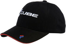 "CUBE CYCLES "" RACE PILOT "" CAP BLACK  CYCLING CAP SMALL - MEDIUM"