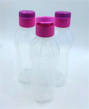 Tupperware H20 Aquasafe Eco Easy Water 3X Bottle Clear 500ml 17oz