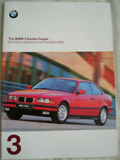 BMW 3 Series Coupe brochure 1997 Ed 1