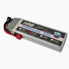 HRB 11.1V 5000mAh 3S1P 50C-100C Akku LiPo Battery for RC Plane Traxxas Car Drone
