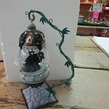 Walt Disney Sleeping Beauty Maleficent Hanging Snowglobe Stand Ornament Globe