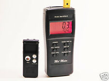 Mel-8704R EMF Meter, Digital 8GB EVP Voice Recorder & Paranormal CD New