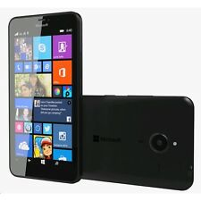 BNIB NOKIA LUMIA 640 BLACK 8GB 4G LTE UNLOCKED WINDOWS 8 SMART WIFI MOBILE PHONE
