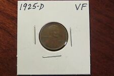 1925-D Lincoln Cent (VF)