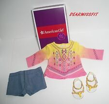 AMERICAN GIRL DOLL LEA CLARK'S BAHIA OUTFIT  - NEW WITH  BOX