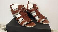 Authentique sandales à talon compenser PROENZA SCHOULER OE2005 37 val 650€ NEUF