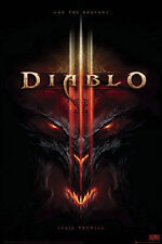 "Diablo 3 POSTER ""Shall Tremble, Computer Game"" BRAND NEW Licensed Art"
