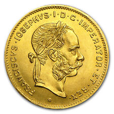 1892 Austria 4 Florin/10 Francs Gold Coin - AU or Better - SKU #24022