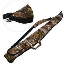 Rifle Shotgun Gase Camo Camouflage Hunting Gun Bag With Side Pocket 126cm