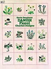 Danish Floral Charted Designs (Dover Embroidery, Needlepoint) by Bengtsson, Ger