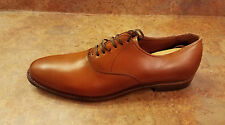 Allen Edmonds 'Carlyle' Plain Toe Lace Up Oxfords Brown Men Size 10.5 D MSRP$385