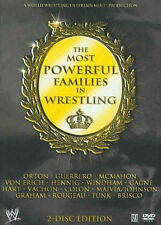 Official WWE - The Most Powerful Families In Wrestling DVD (2 Discs)