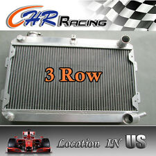 3 ROW Aluminum Radiator for Mazda RX-7 RX7 SA/FB S1 S2 S3 12A/13B MT 1979-1985