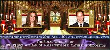 William & Kate Royal Wedding Isle of Man souvenir sheet of two stamps mnh 2011