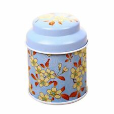 Flower Metal Sugar Coffee Tea Tin Container Candy Sealed Cans Storage Box HOT