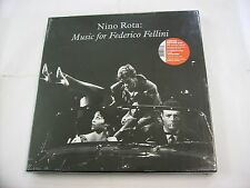 NINO ROTA - MUSIC FOR FELLINI - 3LP BOXSET NUMERATO 2010 NEW SEALED - COPY # 167