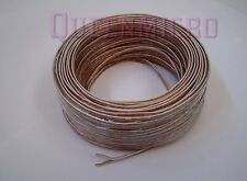 100Ft 22 AWG Gauge 2 Conductor Home Car Speaker Audio Speaker Wire Cable 100'