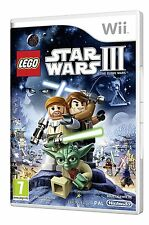 LEGO STAR WARS III  THE CLONE WARS    --- NEUF  -----   pour WII