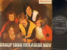 GROUP Groep 1850 PARADISE NOW Discofoon LP 1st PRESS 1969 Vroom & Dreesmann