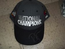 Louisville Cardinals Basketball Peyton Siva Signed NCAA Champions Official Hat
