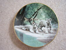 W.S.George England Porcelain animal-tiger plate,Partners