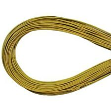 1.5mm Yellow Greek Leather Cord 41577 (5 meters) Round Supple