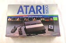 ATARI 5200 Console Bundle With Original Box & Accessories + Game TESTED WORKING