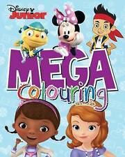 Disney Junior Mega Colouring by Parragon Book Service Ltd (Paperback, 2015)