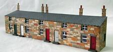Ancorton Terraced Cottages (Half-Relief) - Laser Cut Wood Kit OO Gauge - 95865