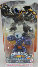 Metallic Purple Eye Brawl-skylanders giants gigante-Chase variante personaje rar