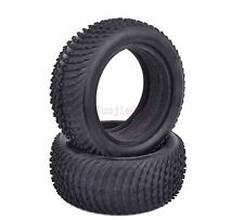 2PCS 85mm*34mm RC 1:10 Front Foam Rubber Tyre Tires Off-Road Buggy Car 7011F