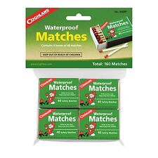 Coghlans 940BP, Waterproof Matches - 4 boxes