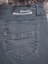 Bench Size 28 Womens Black Skinny Fit Low Rise Jeans