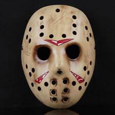 Gold Freddy Jason Killer Mask Halloween Props Costume Dress Resin High Quality
